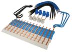 Barrette de connexion & borne de raccordement électrique